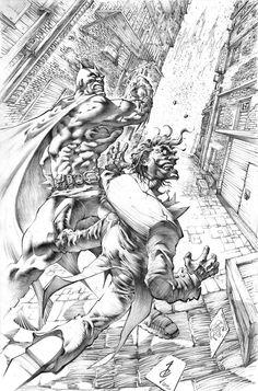 Batman vs Joker by Alan Quah