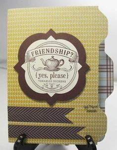 Envelope punch board card