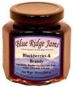 BESTSELLER! Blue Ridge Jams: Blackberries & Brand... $19.50