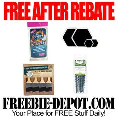 FREE AFTER REBATE – Home and Garden Items at Menards - Exp 5/26/14