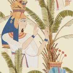 Mind the Gap Egyptian Queens Wallpaper - 1 box (3 drops)