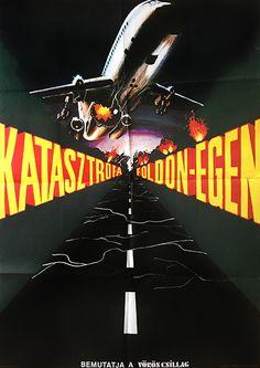 Air Crew 1979 soviet film Hungarian movie poster