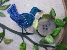 This would have to be the cutest embroidery I have ever seen!  I haven't tried stumpwork myself, but I am so tempted to after finding this.  Just divine!  http://www.craftster.org/forum/index.php?topic=378540.0