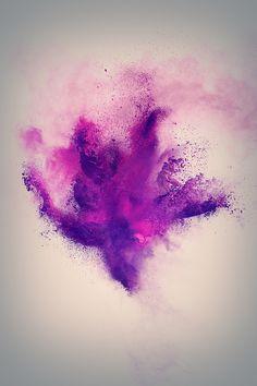 Powder Explosion, Photoshop brush set.