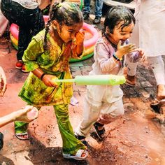 The best Holi with family!! Nothing pretty or delicate about it. Nisha, Asher and Noah unleashed and did what they are suppose to! Just had… Beginning Of Spring, Hindu Festivals, Holi, Celebrities, Pretty, Delicate, Celebs, Start Of Spring, Holi Celebration