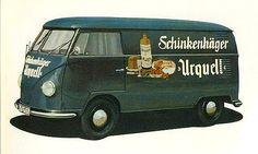Vintage VW bus. https://www.facebook.com/volkswagencollectibles