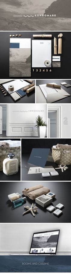 Lungomare - rooms and charme by kidstudio , via Behance