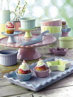 Fuentes, bandejas y moldes Cupcake