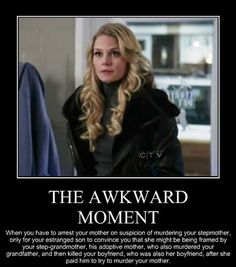 Emma Swan and the awkward moment - ABC's Once Upon A Time (OUAT) I love this show! This makes the show sound bad, but it's not. You just need to watch it. Bellarke, Blue Eyes Make Up, Best Tv, The Best, Coachella, Medici Masters Of Florence, Lying Game, Clash On, Book Series