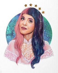 """Drawing of 💫 Melanie Martinez Anime, Melanie Martinez Drawings, Crybaby Melanie Martinez, Cry Baby, Indie, Fandom, Harley Quinn, Music Artists, Disney Characters"