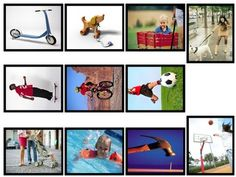 Here's a set of 33 picture cards for sorting into push and pull forces.