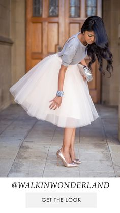 Pretty Lace & Tulle Skirts | Space 46