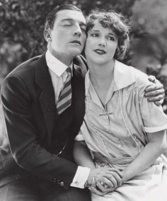 """Buster Keaton and Ruth Dwyer in """"Seven Chances"""" (1925)"""