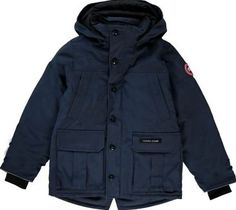 Canada Goose Vernon down jacket Navy blue `7/8 years,10/12 Fabrics : Polyester canvas Details : Straight cut, Interior lined collar in brushed knit for increased warmth and comfort, Long sleeves, Knit cuffs, Internal elastic fastening, enabling to keep in pla http://www.comparestoreprices.co.uk/january-2017-7/canada-goose-vernon-down-jacket-navy-blue-7-8-years-10-12.asp