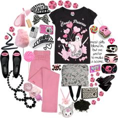 """""""Candy Princess"""" by metalheavy on Polyvore"""