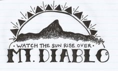 Mt Diablo - The Story So Far