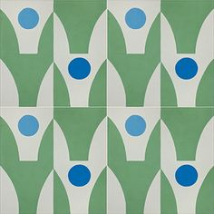 Stockholm 815 B customizable 8x8 deco concrete tile from Echo Collection