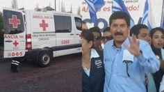 Lamenta Javier Corral muerte de bebé en su evento   El Puntero