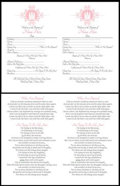 Like Mom and Apple Pie- LDS Girl Baptism Announcement | photo ideas | program| Free Printables