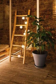 Outdoor Lichterkette Mobile Lampion Natural-Pur look with the Outdoor Fairy Lights Mobile Lampi Outdoor Fairy Lights, Outdoor Lighting, Light Chain, Lounge Design, Garden Lamps, Old Pallets, Outdoor Projects, Light Decorations, White Light