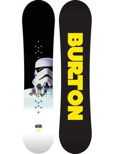 Limited Edition Burton Star Wars Snowboard