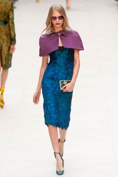 Cara Delevingne killing it at Burberry Prorsum Spring 2013 www.ourfavoritestyle.com