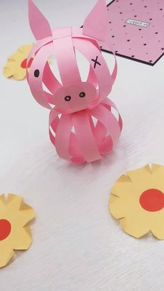 16 Simply Creative Paper Crafts For Kids - Origami Animal Crafts For Kids, Paper Crafts For Kids, Easter Crafts, Diy For Kids, Fun Crafts, Diy And Crafts, Kids Origami, Paper Crafts Origami, Diy Paper