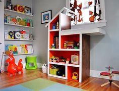 44 creative ways to organize Kids Toys via Home BNC