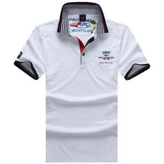 Paul&Shark PS mens polos tshirts, short sleeve, 100% cotton, big size, good quality