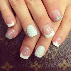 French manicure with a twist!