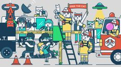 Cat Mayhem. So here it is, one year to late, my contribution to the Animation Sequence Project.  I've had this idea for so long and now I fi...
