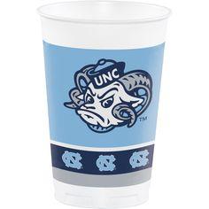 (96/case) University Of North Carolina 20 Oz Plastic Cups