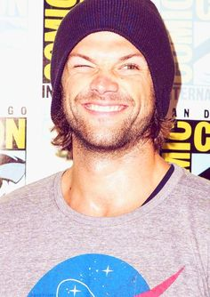 Jared Padalecki ...adorable #ComicCon
