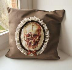 Victorian memento mori skull