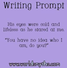 Prompts, writing prompts for writers, book prompts, dialogue prompts, w Picture Writing Prompts, Book Prompts, Writing Prompts For Writers, Book Writing Tips, Dialogue Prompts, Creative Writing Prompts, Writing Words, Writing Quotes, Essay Writing