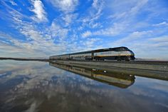 Flying Train - Amtrak California