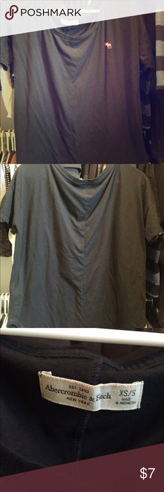 AF boxy tee Gray boxy Abercrombie Fitch Tee. Abercrombie & Fitch Tops Tees - Short Sleeve
