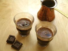 Turkish Coffee and Chocolate