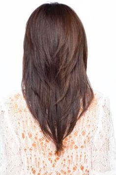 V Shaped Haircut Short Hair : shaped, haircut, short, Shape