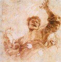 Study of God the Father, 1515  Raphael