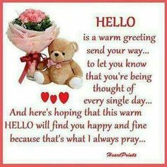 Hello Wonderful Day Quotes, Beautiful Friend Quotes, Special Friend Quotes, Morning Quotes For Friends, Funny Good Morning Quotes, Best Friend Quotes, Quote Friends, Valentines Day Quotes Friendship, Friendship Poems