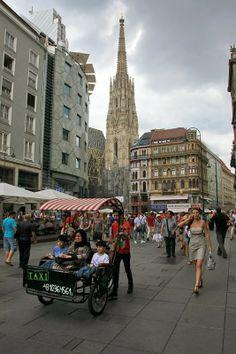 Viena, com 2,3 milhões de habitantes, é a capital da Áustria e o centro político e cultural do país. O centro histórico é património da UNESCO