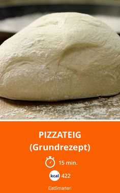 Pizzateig - (Grundrezept) - smarter - Kalorien: 422 Kcal - Zeit: 15 Min. | eatsmarter.de