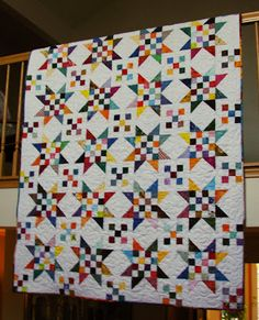 I have been wanting to make a scrap quilt forever. I've been buying fabric and quilting since the 1990s, so you can imagine the amount of...
