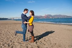 One Couple's Hilarious Take on Engagement Photo Clichés... I can't stop laughing at all of these!