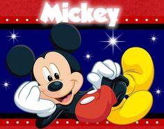 Kit Imprimible Mickey Mouse Diseñá Tarjetas , Cumples Y Mas (Kits ...