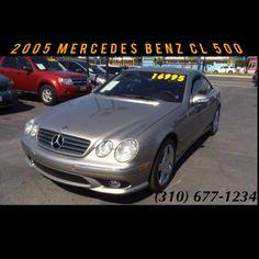 FOR SALE: 2005 Mercedes Benz CL500 - 68K miles - $15,995 Visit www.supadaveauto.com for more information.    #CL #CL500 #Mercedes #benz #mercedesbenz #champagne #leather #usedcars #bestusedcars #fast #luxury #2door #coupe #chrome #wheels #rims #forsale #sale #Inglewood #hawthorne #manhattanbeach #elsegundo #culvercity #mph #nice #clean #supadaveauto #losangeles #lacarsforsale #bestcars