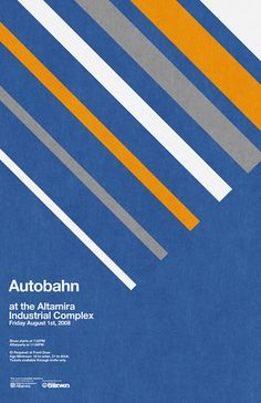 Autobahn Poster by _Untitled-1, via Flickr