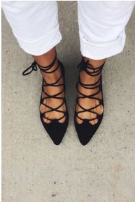 #anthrofave *Lace up Flats