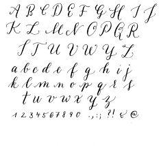 Bildergebnis Fur Schriften Vorlagen Modern Calligraphy Alphabet